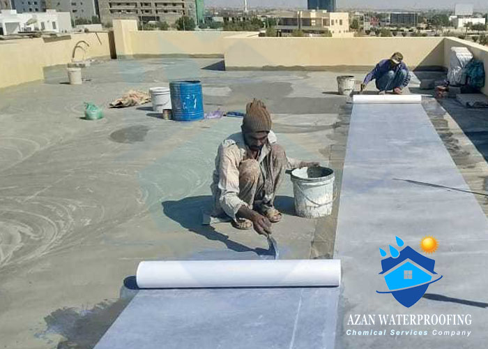 Roof Sheet Waterproofing